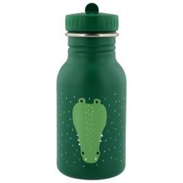 trixie rvs drinkfles mr. crocodile - 350ml | ilovespeelgoed.nl