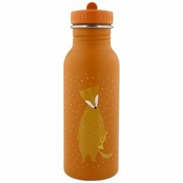 trixie rvs drinkfles mr. fox - 500ml | ilovespeelgoed.nl