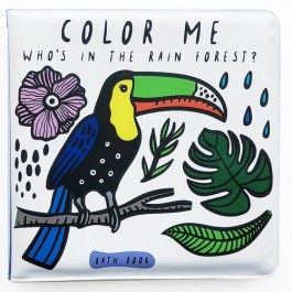 wee gallery badboekje colour me - who's in the rainforest  ilovespeelgoed.nl