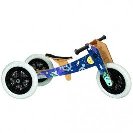 wishbone bike 3-in-1 - space limited edition  | ilovespeelgoed.nl