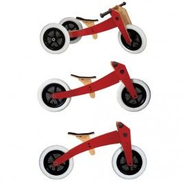 wishbone bike 3-in-1 red | ilovespeelgoed.nl