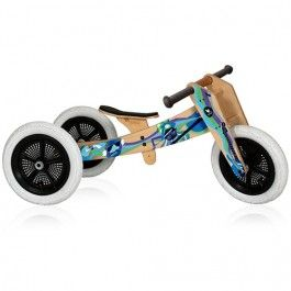 wishbone bike loopfiets 3-in-1 music limited edition | ilovespeelgoed.nl