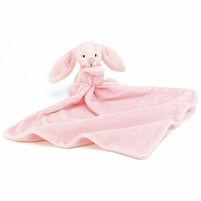 bashful pink bunny soother   jellycat