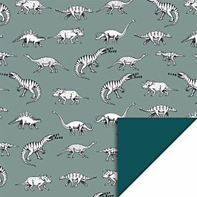 house of products inpakpapier dino - 3 m | ilovespeelgoed.nl