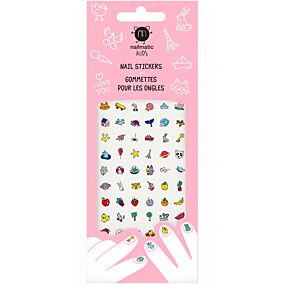 nailmatic nagelstickers happy nails