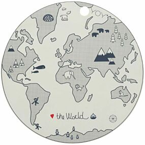 oyoy placemat the world | ilovespeelgoed.nl