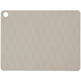 oyoy placemat dotto - clay - 2st | ilovespeelgoed.nl