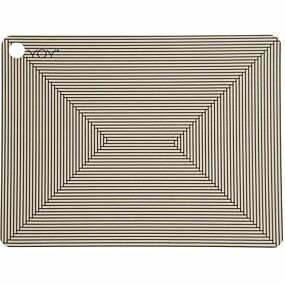 oyoy placemat futo clay - 2st | ilovespeelgoed.nl