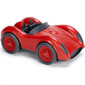 green toys raceauto rood - gerecycled GTRACR1478 | ilovespeelgoed.nl