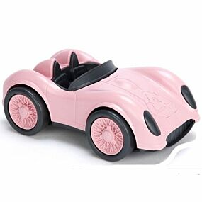 green toys raceauto roze - gerecycled
