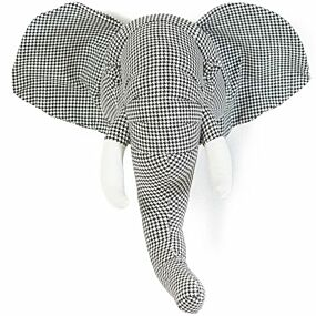 wild & soft trophy heads abstract - olifant | ilovespeelgoed.nl