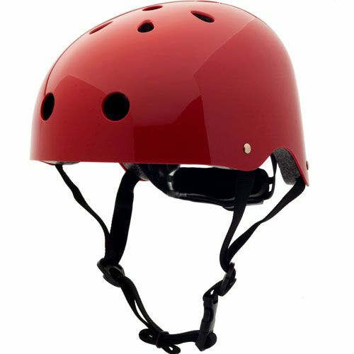 coconuts helmets kinderhelm ruby red plain  - m