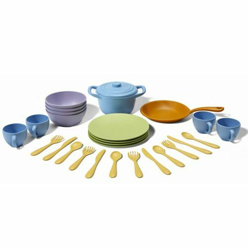 green toys dinerset
