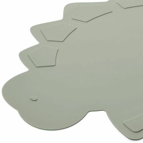liewood placemat dino - dove blue