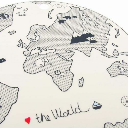 oyoy placemat the world