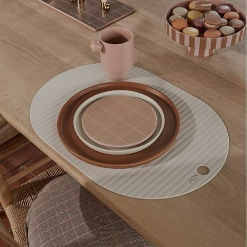 oyoy placemats ribbo - creme - 2st