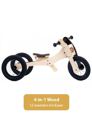 Trybike Wood assortiment